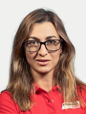 Екатерина ГАЛОЧКА, менеджер тренажерного зала, мастер-тренер